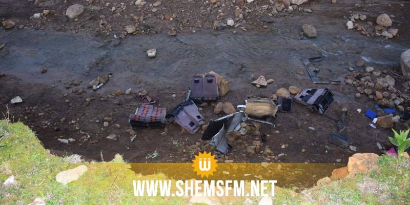 حادث عمدون: وزارة النقل تنفي نشر نتائج التحقيق
