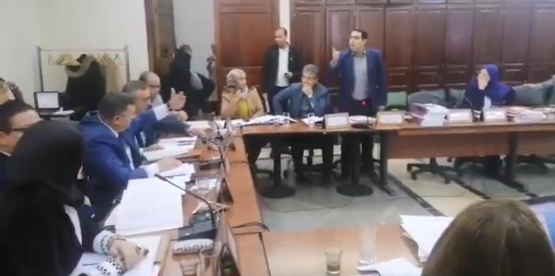 لجنة المالية بالبرلمان: أجواء مشحونة وتلاسن بين اللومي والصغير