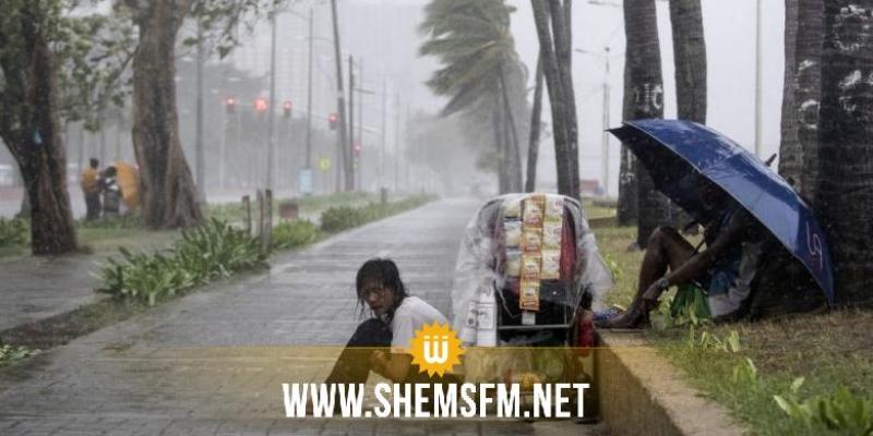 الفلبين تجلي 200 ألف شخص وتغلق مطارها الدولي تأهبا لإعصار قوي