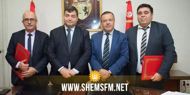 ابرام ثلاث اتفاقيات تعاون بين وزارات الفلاحة والسياحة والنقل