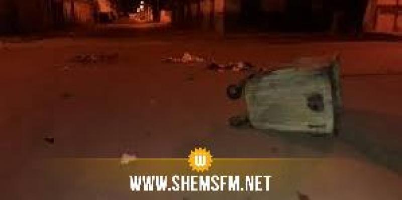 مدينة سيدي بوزيد: إحتجاجات ومواجهات بين عدد من الشباب والأمن