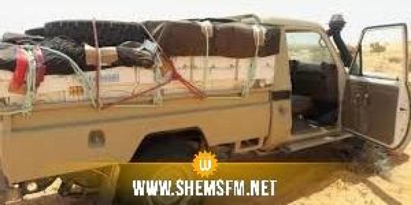 سيدي بوزيد: ضبط شاحنة نقل جزائرية على متنها  أكثر من 22 طن من  الورق