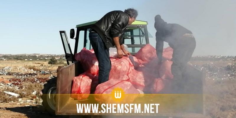 القصرين: اتلاف 5 أطنان من الدجاج مصابة بالسالمونيلا