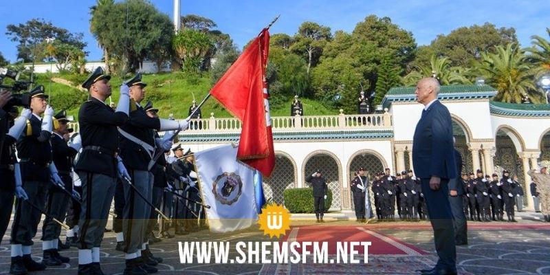 قيس سعيد:'تونس في حاجة إلى تشريعات جديدة تحمي أعوان الديوانة وعائلاتهم وإقتصاد الوطن'