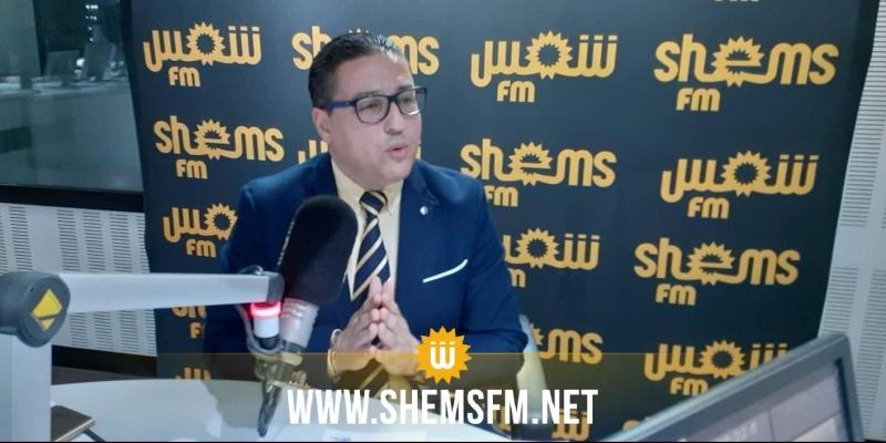 هشام العجبوني: 'التيار الديمقراطي سيصوت ضد قانون المالية لسنة 2020'