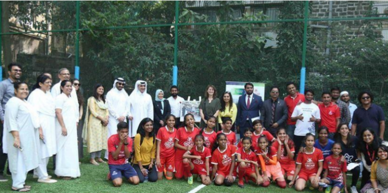 مونديال قطر: برنامج الجيل المبهر يفتتح ملعبين في الهند