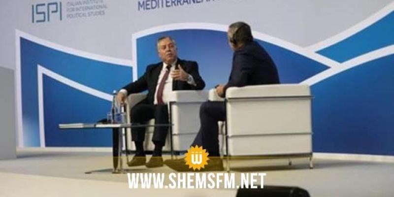 تجربة الإنتقال الديمقراطي في تونس محور حوار خاص مع باشطبجي بمنتدى روما لحوارات المتوسط