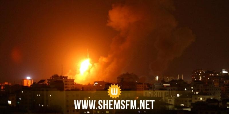 الاحتلال الصهيوني يشن غارات على قطاع غزة