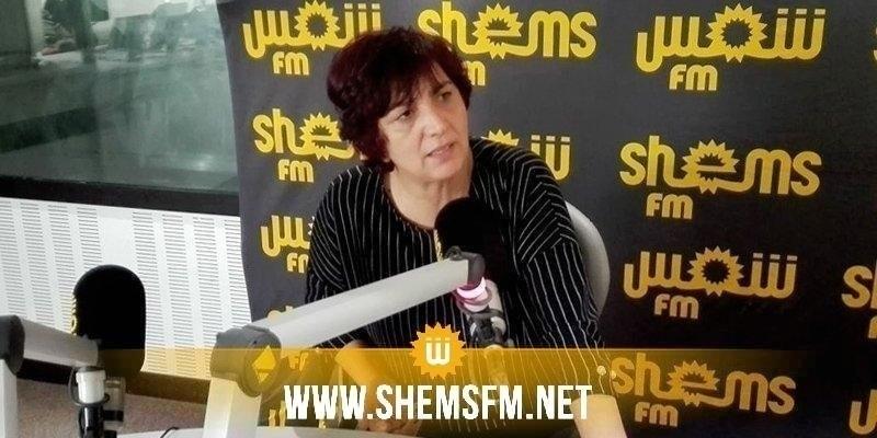 سامية عبو تدعو لتوفير كراسي وماء للنواب المعتصمين