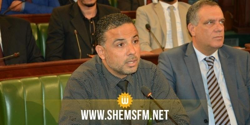 مخلوف يتهم نواب الحزب الدستوري الحر بالسعي لتعطيل مصالح الدولة خدمة لأطراف خارجية