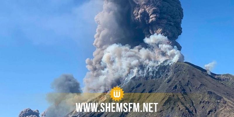 إصابة أشخاص في ثوران بركان بنيوزلندا