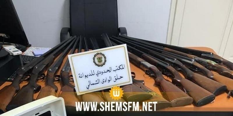 Saisie de 14 fusils de chasse au port de la Goulette