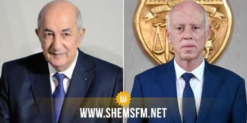 رئيس الجمهورية يهنئ الرئيس الجزائري المنتخب