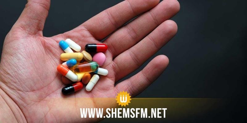 الحرس الديواني بتوزر يحجز 6664 حبة دواء مخدر
