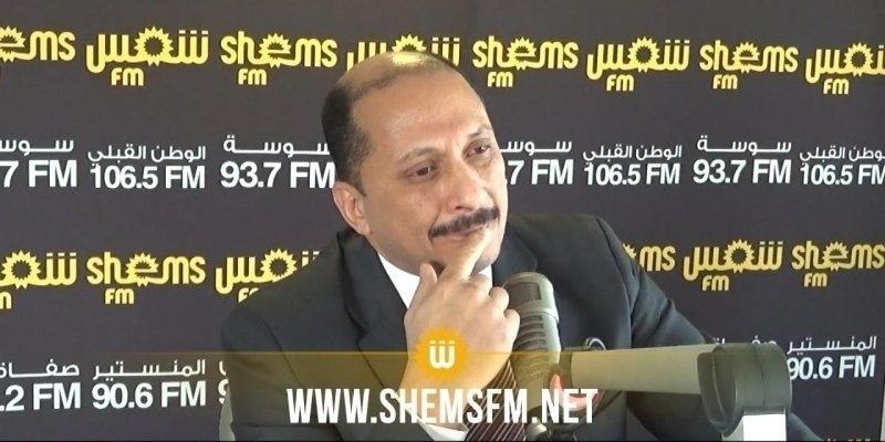 عبو: 'إذا انضم التيار للحكومة فإنه لن يحترز على وجود أي طرف سياسي طالما لن يفلت من تطبيق القانون عليه'