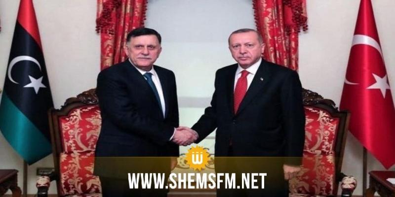قال إن حفتر زعيم غير شرعي: أردوغان يؤكد استعداد تركيا لتقديم أي دعم عسكري تحتاجه ليبيا