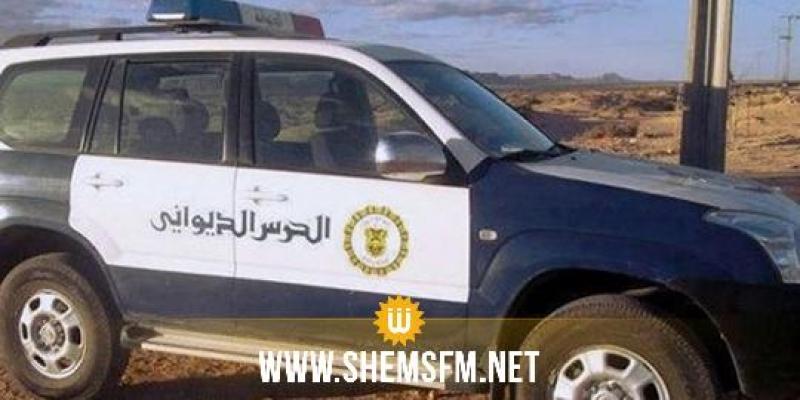 جلمة: الديوانة تحجز حافلة جزائرية محملة بمواد مهربة