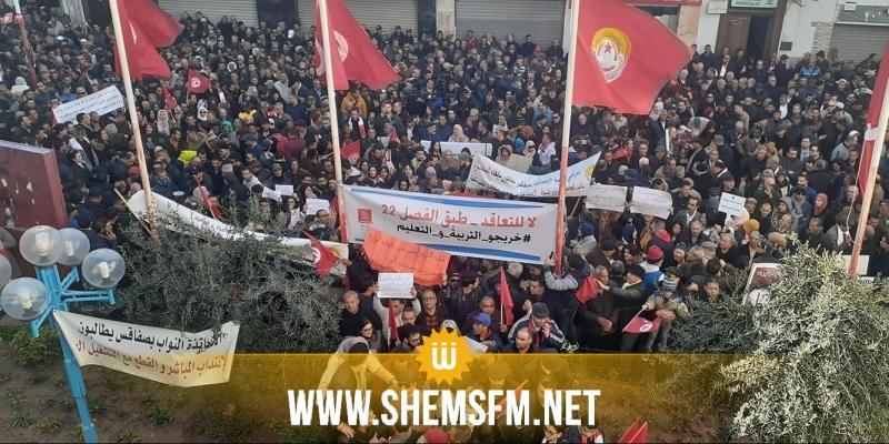 'الطبوبي: 'صبر الاتحاد نفد ولا يمكننا أن نستمر في هذا الصمت'