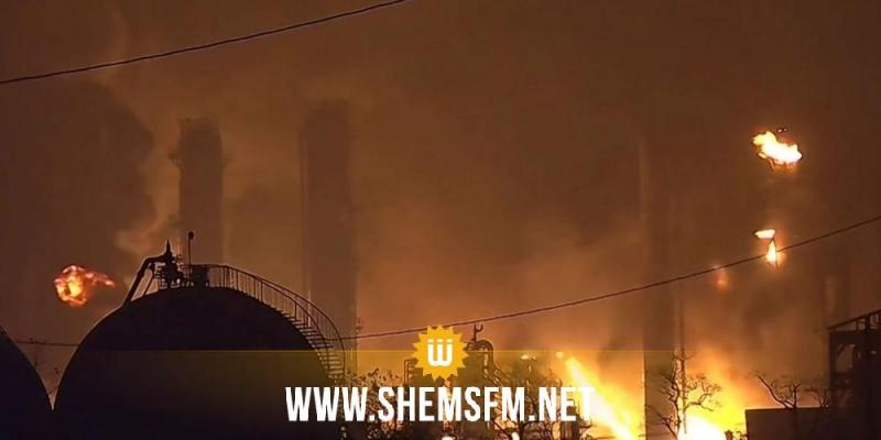 اسبانيا: انفجار قوي في مصنع للبتروكيماويات