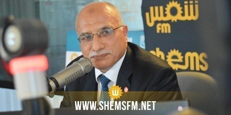 الهاروني: حركة النهضة تطالب بتشكيل حكومة وحدة وطنية توافقية