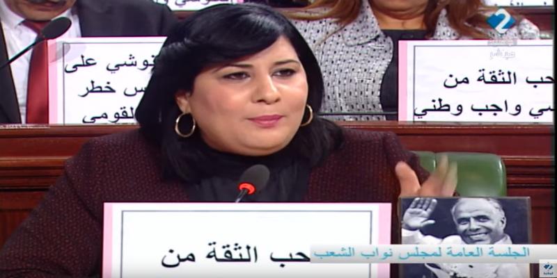 البرلمان: أجواء متوترة وتراشق بالاتهامات بين عبير موسي والغنوشي ..والأخير يقطع مداخلتها