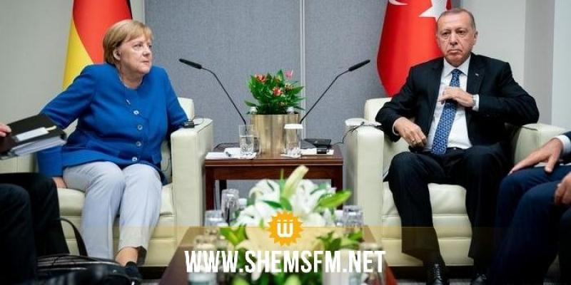 ميركل ستزور تركيا في 24  جانفي لإجراء مباحثات مع أردوغان