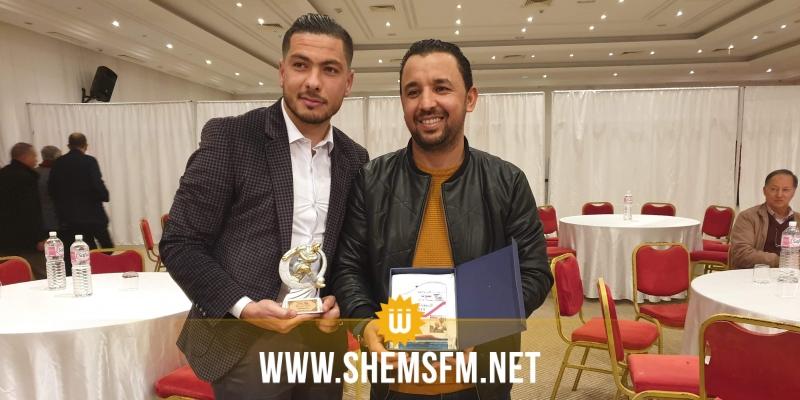 حسب استفتاء لنادي الصحافة ببنزرت: وسام بوسنينة أفضل لاعب لسنة 2019
