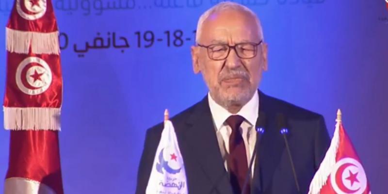 الغنوشي: 'المحافظة على وحدة النهضة هي محافظة على وحدة تونس'