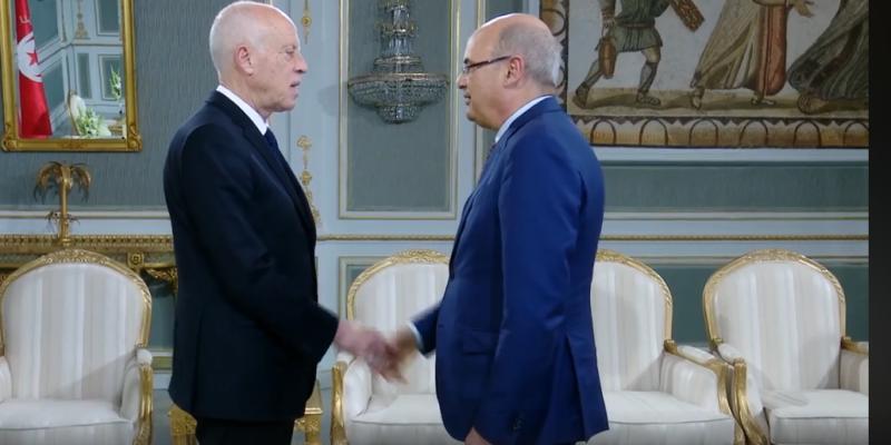 رئيس الجمهورية يستقبل حكيم بن حمودة