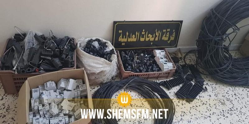 المنستير: سرقة أسلاك ومعدات كهربائية تابعة للستاغ