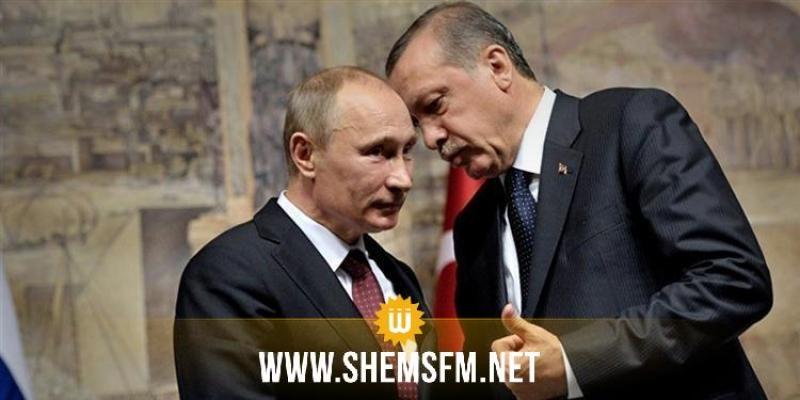 بوتين يجتمع بأردوغان على هامش مؤتمر برلين حول ليبيا