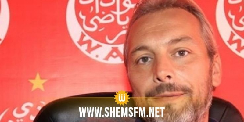 الوداد يعلن تعاقده رسميا مع المدرب ديسابر