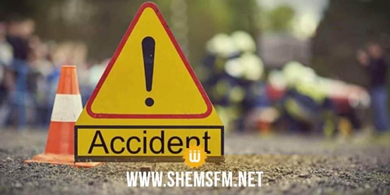 سوسة: 14 مصابا في تصادم شاحنة ثقيلة بسيارتي لواج