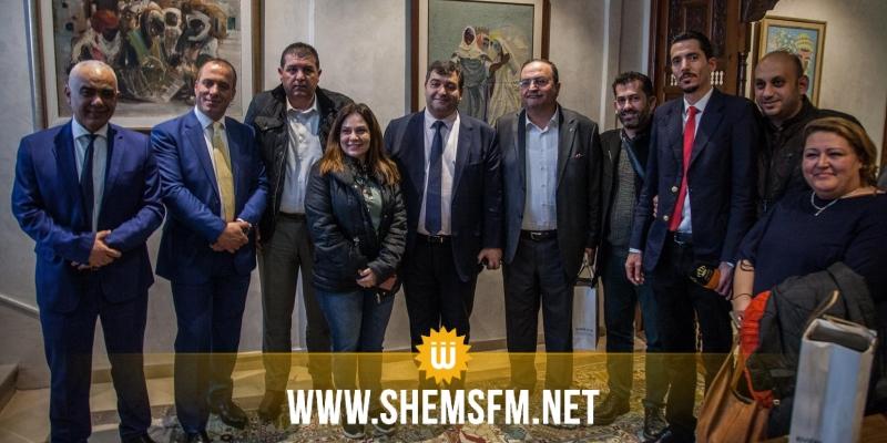 روني الطرابلسي يبحث تعزيز العلاقات السياحية مع الأردن