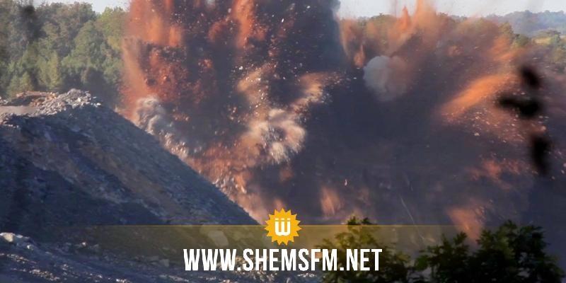 وزراة الدفاع: إنفجار لغم بمغيلة لم يسفر عن إصابات بشرية أو أضرار مادية