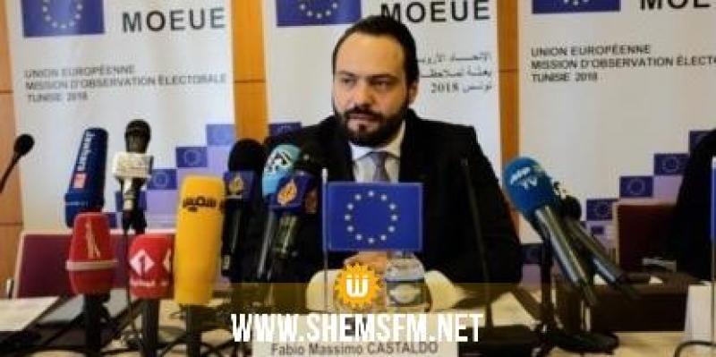 كاستالدو: الاتحاد الأوروبي حريص على مواصلة دعم المسار الديمقراطي في تونس