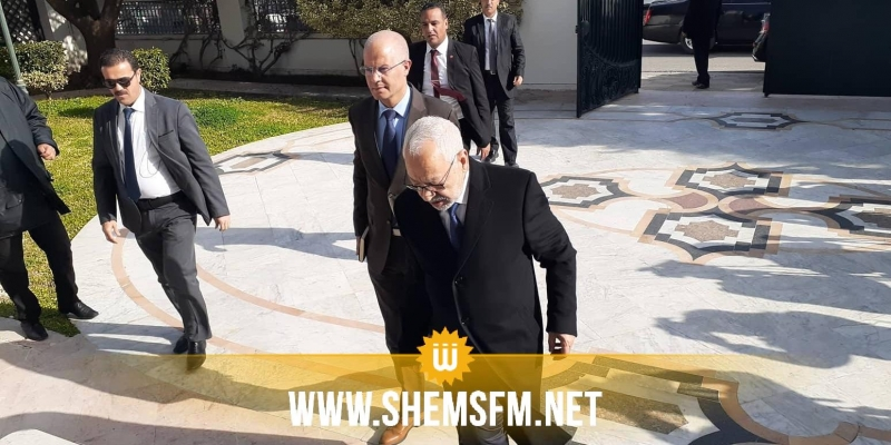 راشد الغنوشي:'حريصون على أن يكون قلب تونس ضمن الإئتلاف الحكومي'