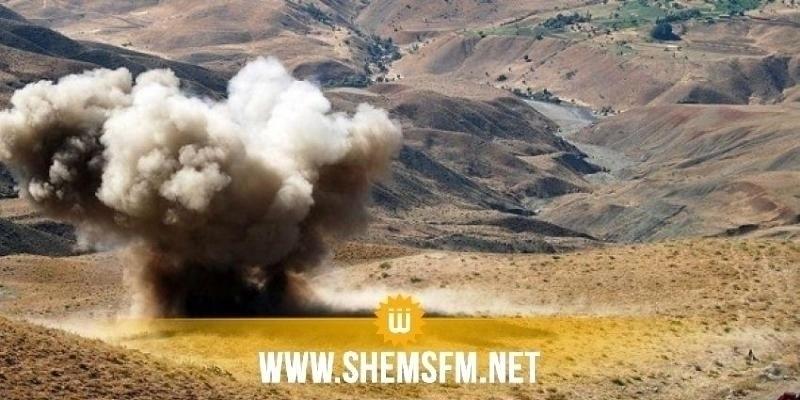 القصرين: إصابة مواطن إثر إنفجار لغم  بجبل الشعانبي