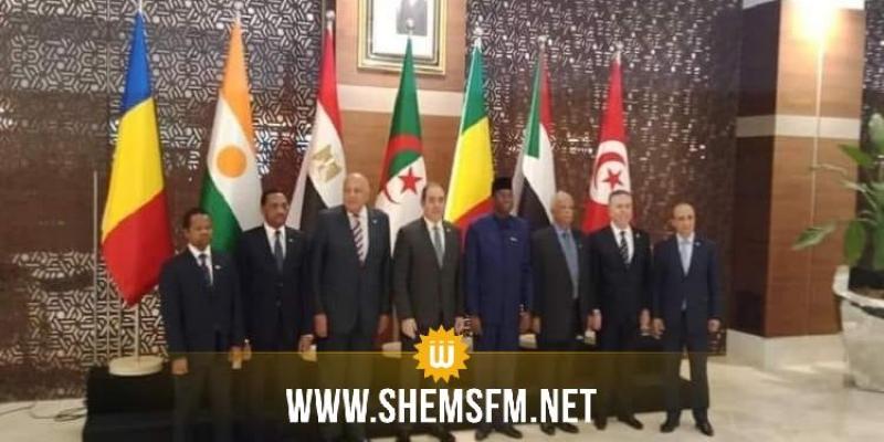 تونس تؤكد رفضها المطلق للحلول العسكرية والتدخل الخارجي في الشأن الليبي