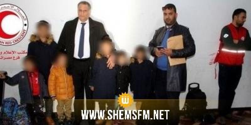 مندوب حماية الطفولة: الأطفال الـ6 المعادين من ليبيا سيلتحقون بمقاعد الدراسة ومراكز التكوين المهني