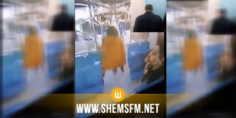 القبض على مرتكب عملية سرقة بالنطر من داخل قطار بجبل الجلود