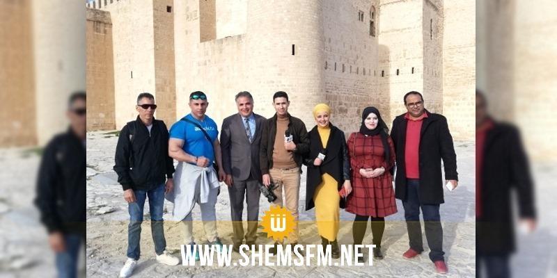 المنستير: وفد صحفي جزائري وبطل العالم في رياضة كمال الأجسام فيصل الميهوبي يروجون للسياحة
