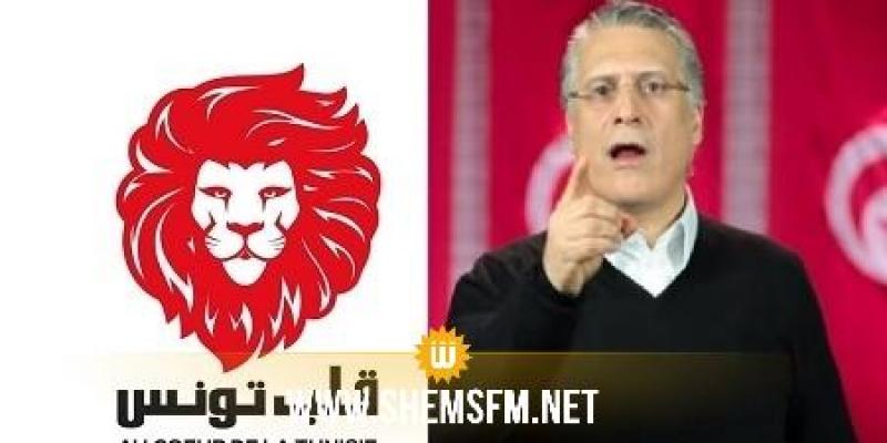 حزب قلب تونس ينبه من 'خطورة ما جاء بالمذكّرة التعاقديّة من أجل الائتلاف الحكومي'