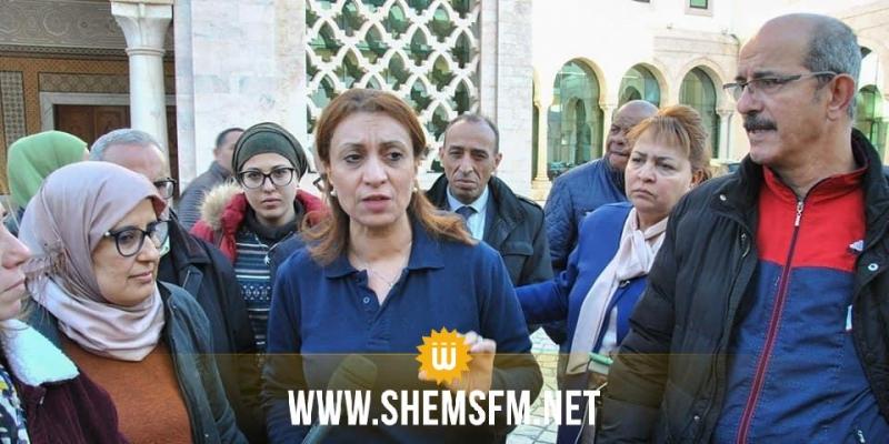 سعاد عبد الرحيم: عمال بلدية تونس يطالبون بمنحة خصوصية بقيمة 300 دينار شهريا