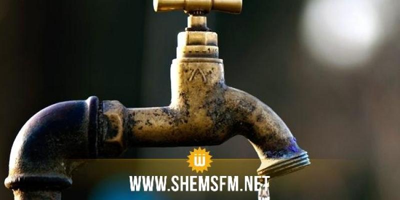 غدا: انقطاع الماء الصالح للشرب بجرجيس وأحوازها والمنطقة السياحية