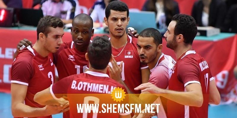برنامج مقابلات منتخب الكرة الطائرة في دورة الألعاب الأولمبية