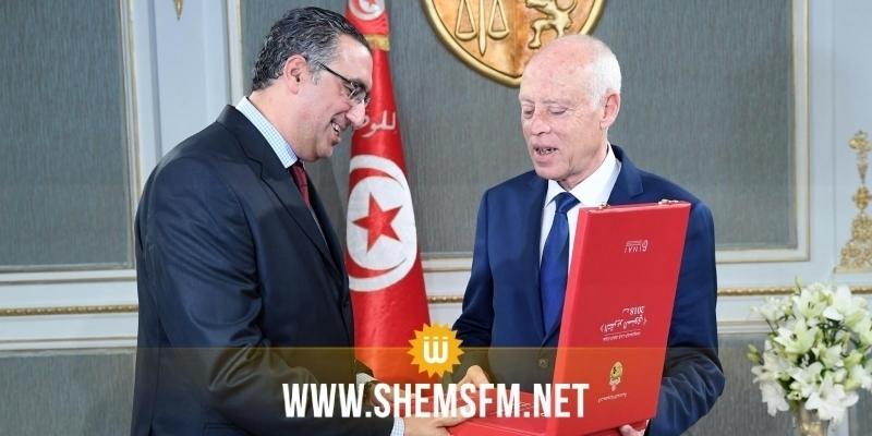 Le chef de l'Etat reçoit le président de l'Instance nationale d'accès à l'information