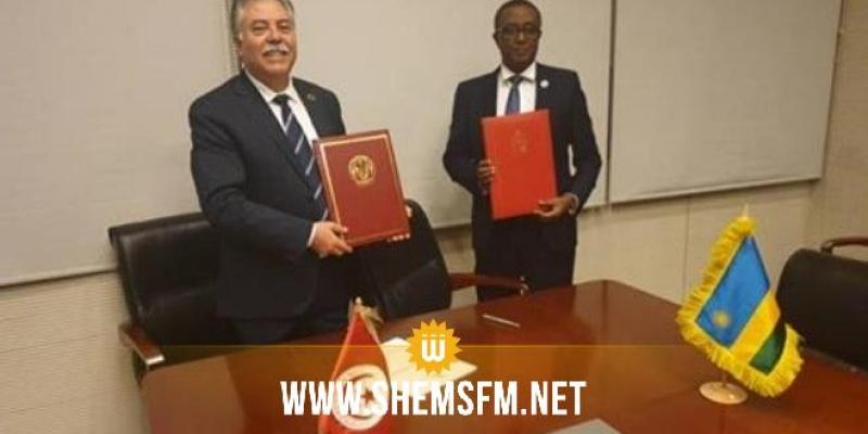 توقيع إتفاق بين تونس ورواندا بشأن الخدمات الجوية