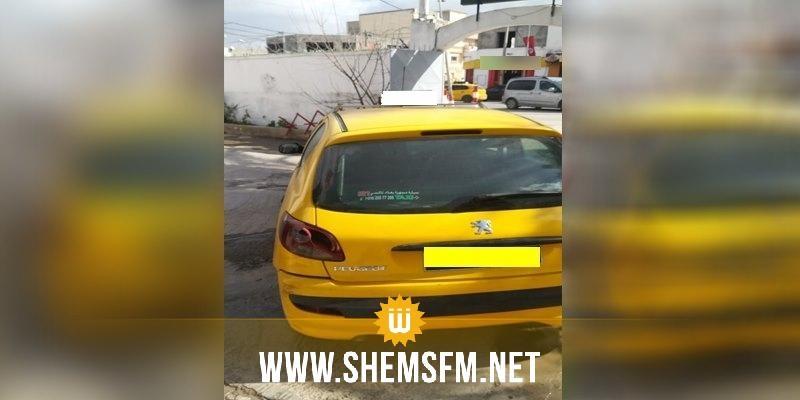 حجز سيارة أجرة 'تاكسي فردي' وهمية بفوشانة