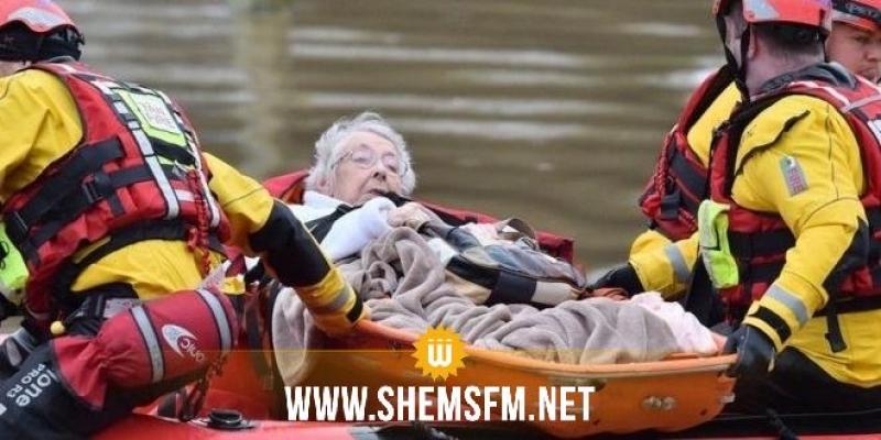 هيئة الأرصاد الجوية ببريطانيا تطلق تحذيرات من العاصفة والفيضانات